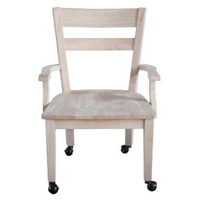 unfinished wooden armchair unpainted chair