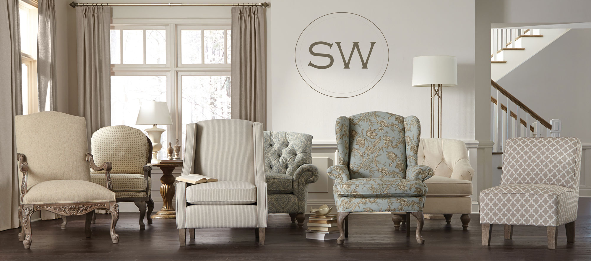 wide selection of stylish chairs at desert design center furniture stores in tucson